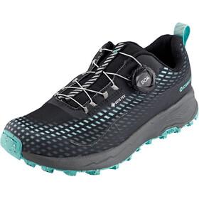 Icebug NewRun RB9 GTX Running Shoes Women black/jademist